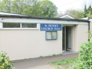 St Peter's Chuch Hall Available for some Bookings